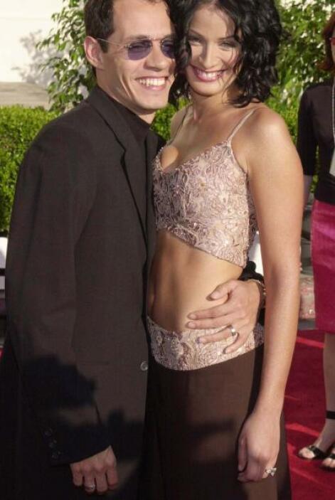 Marc Anthony también estuvo casado con Dayanara Torres, ex Miss Universo...