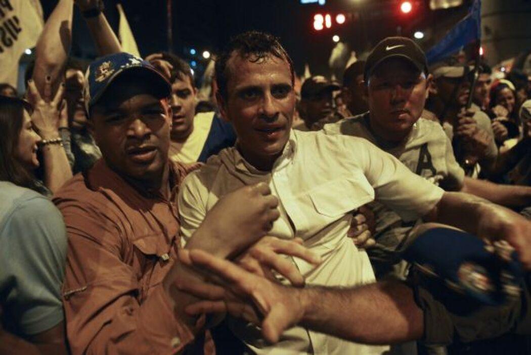 """""""Quiero construir un país para ustedes, para los venezolanos, para la pa..."""