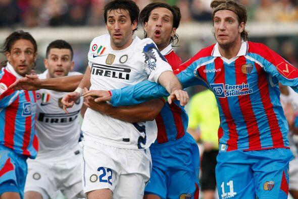 El Inter comenzó perdiendo, pero vino de atrás.