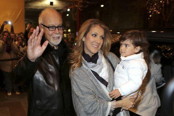 Celine Dion fue otra de las celebridades que no sólo impact&oacut...