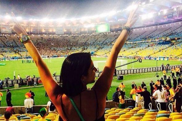 """""""#Feliz de haber sido parte y testigo de la #Final #argentina #Alemania...."""