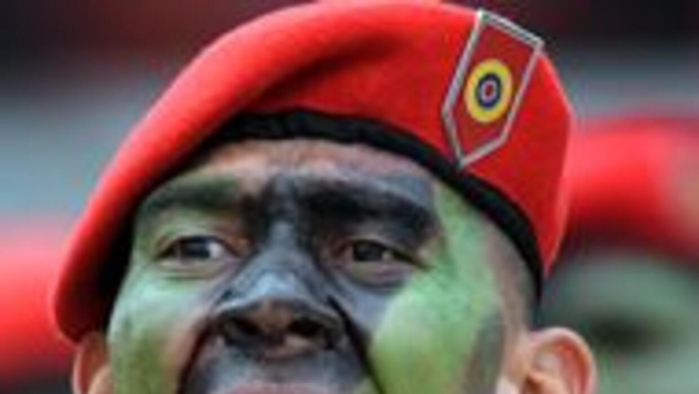 La militarizada Guardia Nacional de Venezuela ocupó la casa de Nelson Me...