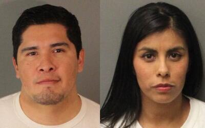 El abogado de inmigración Rogelio Morales y su esposa Mireya Arias