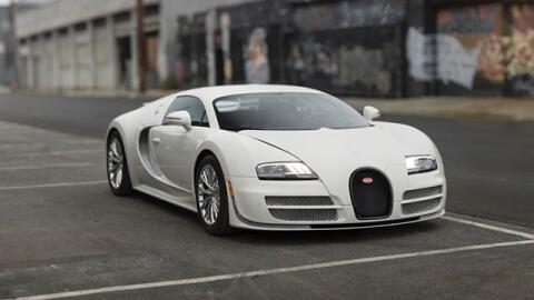 El último Bugatti Veyron Super Sport fabricado será subast...