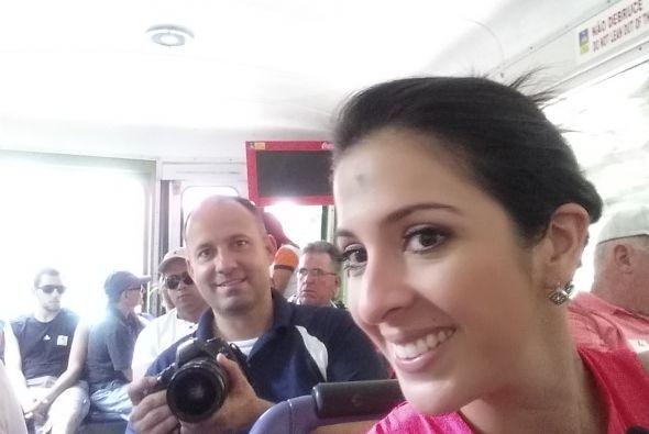 Otra 'selfie' que nos permite ver la excelente convivencia entre los que...