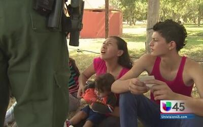 Familias Centroamericanas se refugian en Houston