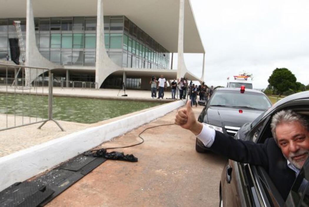 Su mensaje trazó un plan de gobierno de continuidad de los logros de Lul...