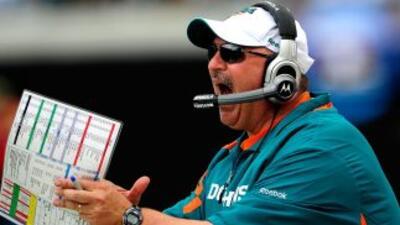 Tony Sparano no ha podido llevar a los Miami Dolphins a los playoffs en...