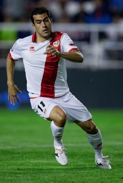 Nery Castillo pudo enfrentarse a Carlos Vela en la victoria del Rayo Val...