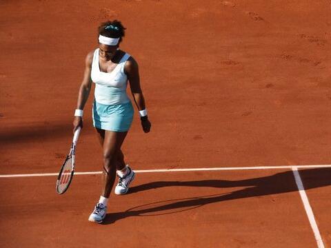 La sorpresa de la jornada en Roland Garros fue, sin duda, la eliminaci&o...