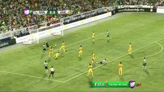 Goooolll!! Carlos Darwin Quintero mete el balón y marca para Santos Laguna