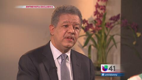 """En exclusiva: Expresidente dominicano Leonel Fernández explica """"el fenóm..."""