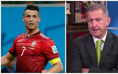 """Juan Carlos Osorio sobre Cristiano Ronaldo: """"A Cristiano hay que tenerlo..."""