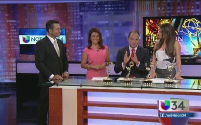 ¡Felicidades al equipo de Noticias 34!