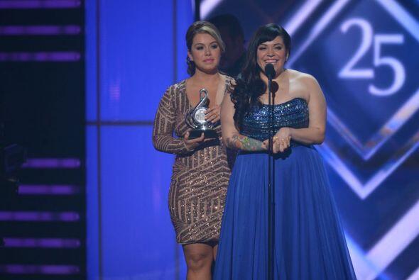 'La Diva' logró coronarse como la Mejor Artista Pop Femenino del Año, Me...
