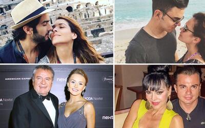 El amor no tiene edad para estas parejas