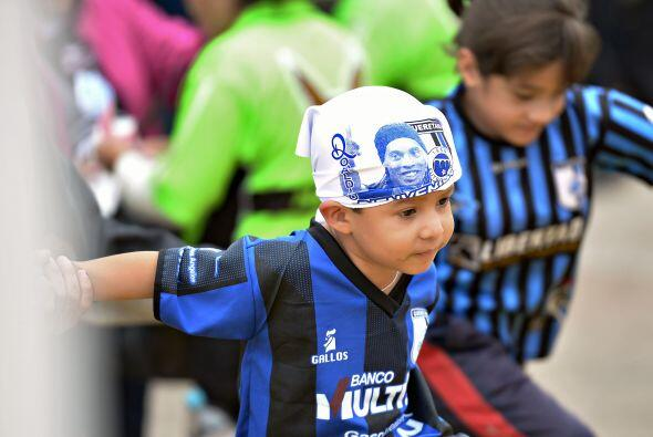 La Ronaldinhomania en Querétaro