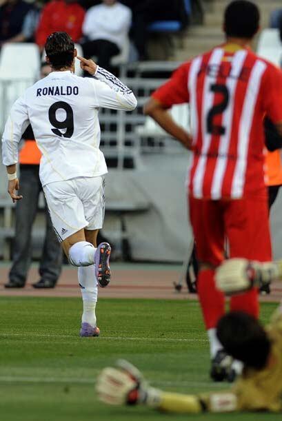 Pero 13 minutos después Cristiano Ronaldo se encargó de igualar el marca...