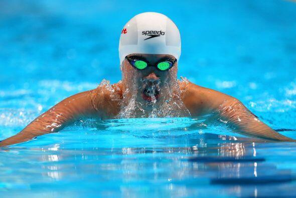 En el nado 800 metros libres varonil, el chino Sun Yang fue quien se lle...
