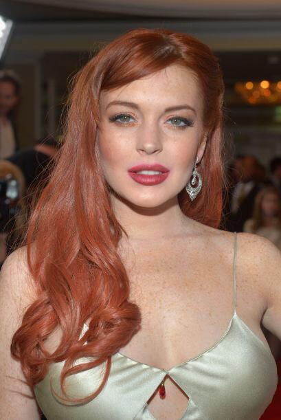 """Lo bueno es que Lindsay Lohan tiene mucha """"bubi"""" para rellenar..."""