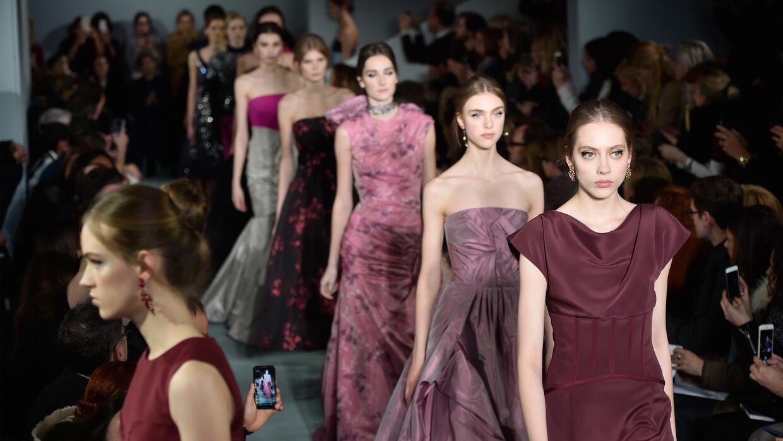 El desfile del diseñador Oscar de la Renta fall-winter 2016