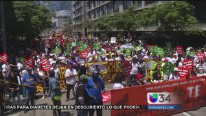 Conmemoran el primero de mayo por los trabajadores y los inmigrantes
