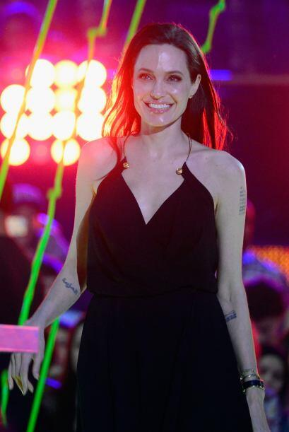 Angelina Jolie en los Kids Choice Awards