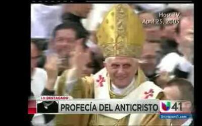 Profecía indica que Benedicto XVI sera el penúltimo Papa antes del juici...