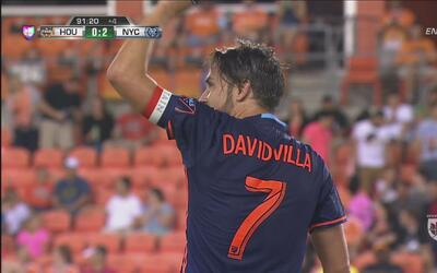 En un gran contrataque, David Villa puso el 2-0 de New York City
