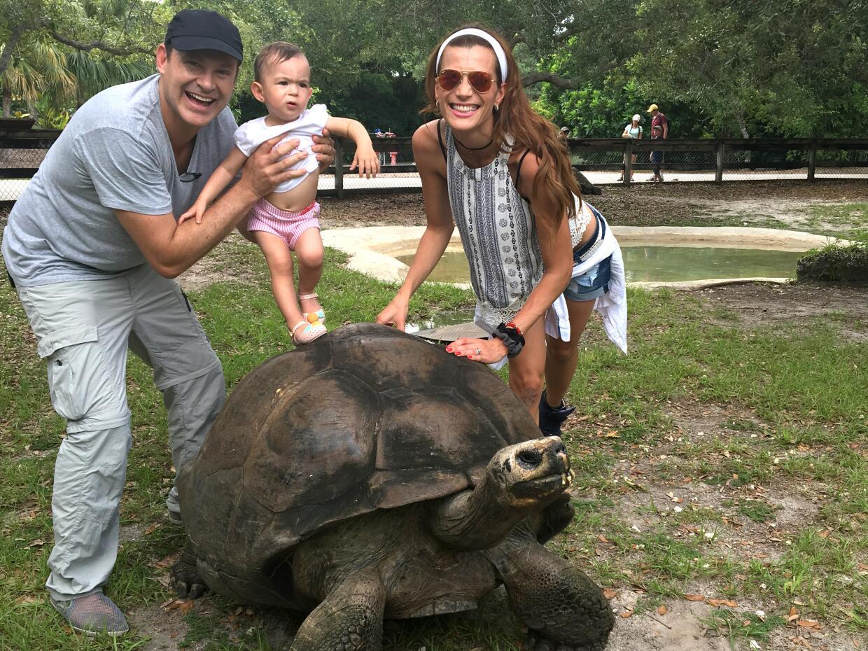 Baby Michelle zoológico Despierta América