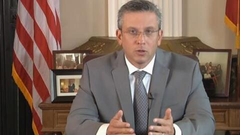 El Gobernador Alejandro García Padilla difundió un mensaje...