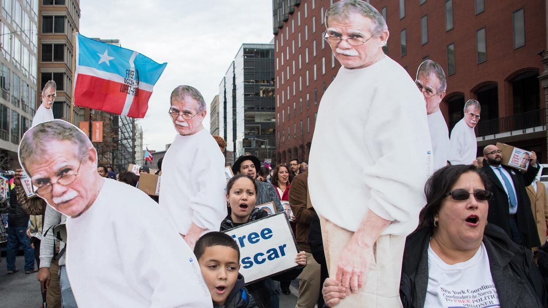 Óscar López Rivera saldrá de la cárcel el próximo 17 de mayo tras ser in...