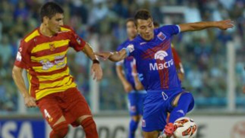Tigre logró sacar en casa los primeros tres puntos de la eliminatoria de...