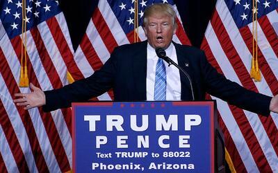 """Donald Trump: """"México pagará el muro"""""""