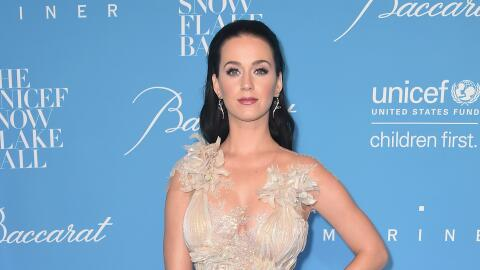 Katy Perry y Orlando Bloom en la gala de UNICEF