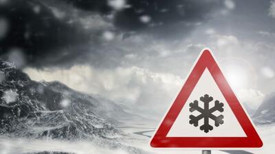 Este fin de semana se esperan temperaturas congelantes y lluvia helada,...