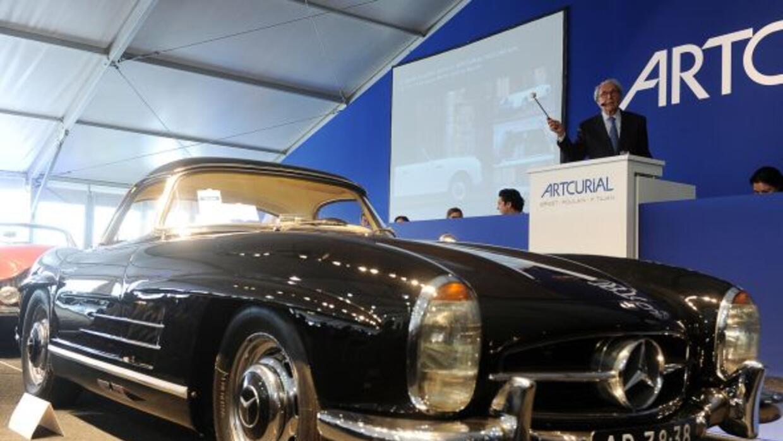 Este 300 SL Roadster de 1961 se vendió en más de un millón de euros.