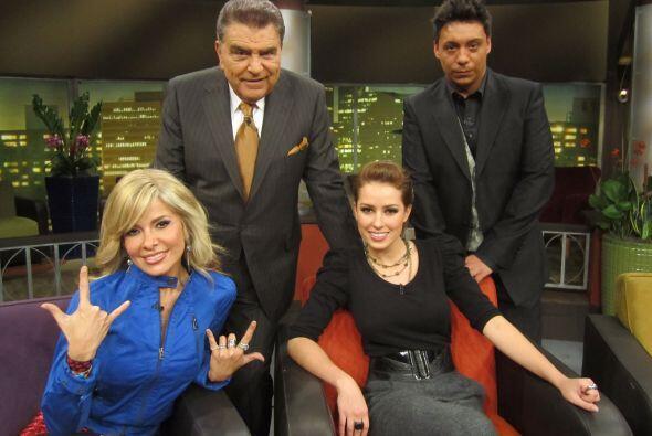 Y así despidieron el programa los invitados de Don Francisco Pres...