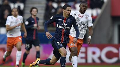 PSG empató con Montpellier