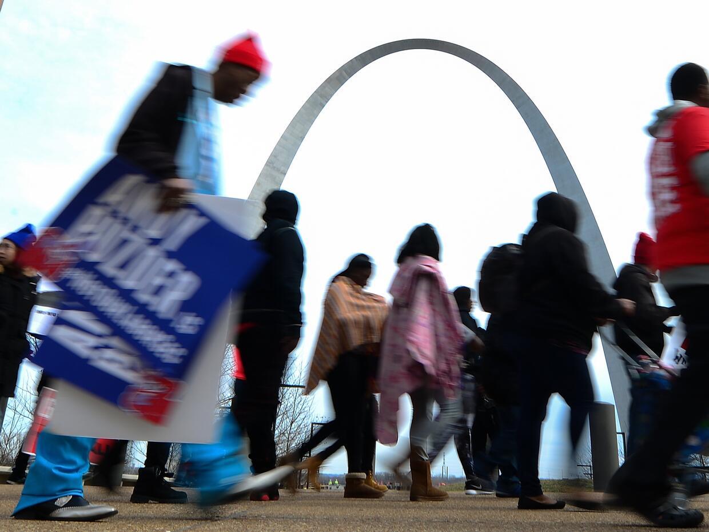 St. Louis y su famoso arco cada vez le dan la bienvenida a menos personas.