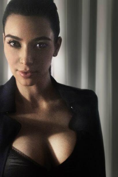 Su novio Kanye West compartió estas sexis imágenes de su novia.