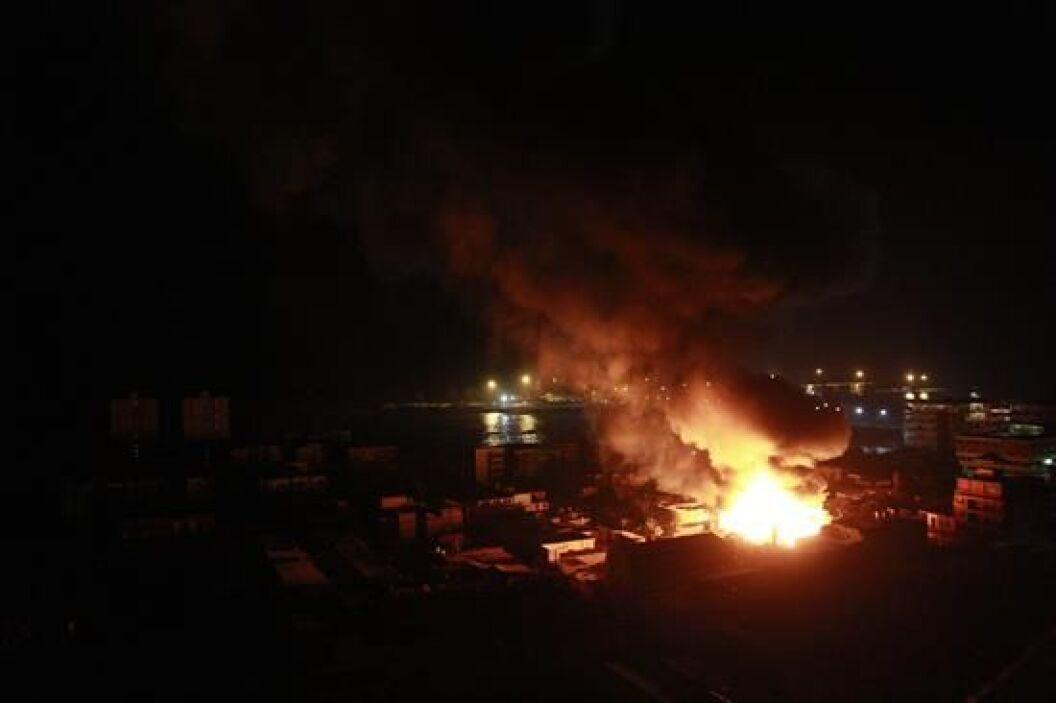 La zona de Iquique fue una de las más golpeadas por el fuerte sismo que...