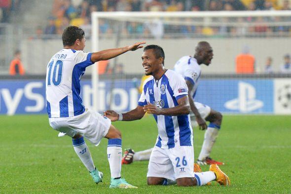 Tras el empate, el Oporto es líder del Grupo H con cuatro puntos.
