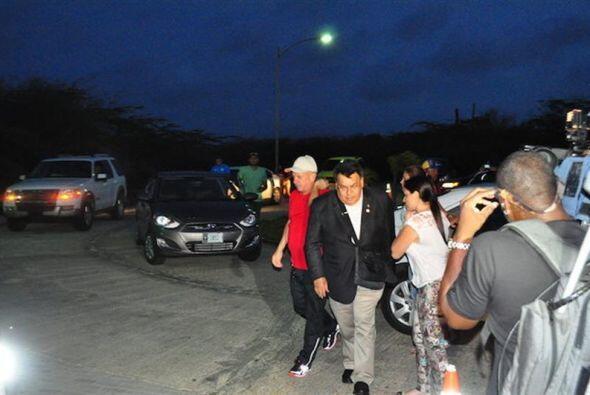 Hugo Carvajal fue liberado el domingo por la tarde por las autoridades d...