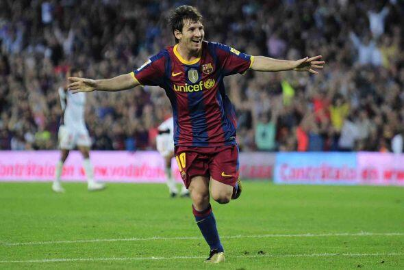 Lionel Messi, delantero argentino de 24 años de edad, se consolidó como...