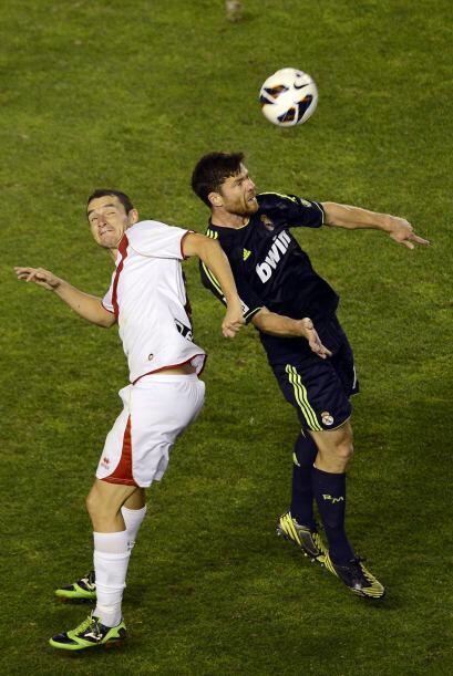 Pero el rayo no permitían otros goles en su portería.