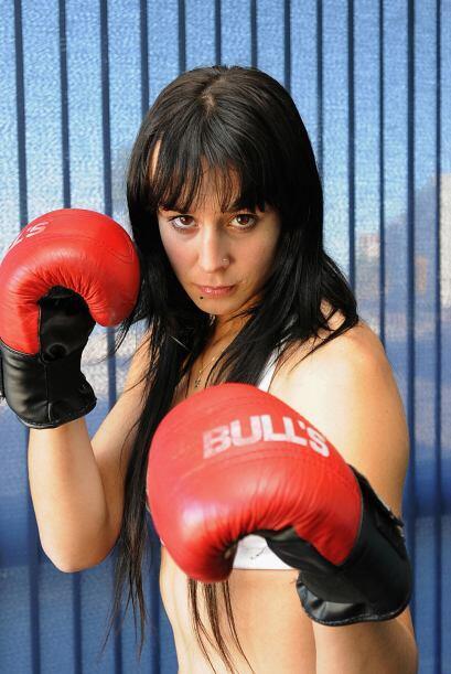 Chiris Namus no sólo ha pasado a la fama por su buen boxeo, tambi...