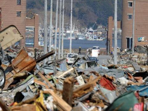 Una de las prefecturas más afectadas por el terremoto y posterior...