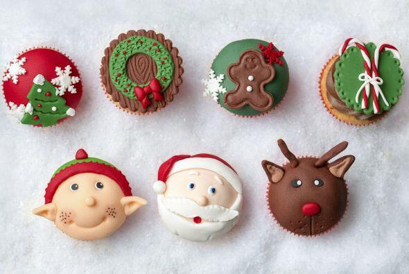 Y estas dulces formas de los iconos de la navidad serán un éxito.