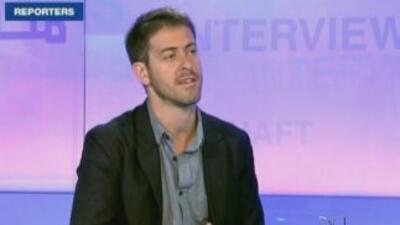 El periodista francés, Romeo Langlois, cumplió tres semanas en poder de...